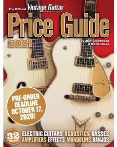 The Official Vintage Guitar® Price Guide 2021 - PRE-ORDER SALE!