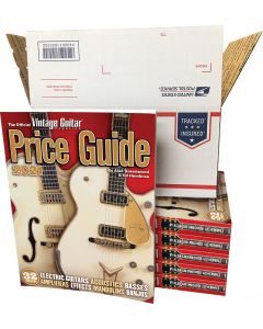 The Official Vintage Guitar® Price Guide 2021 • Wholesale Price 6 Pack - PRE-ORDER SALE!
