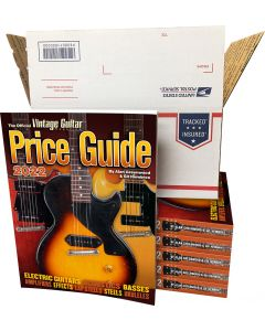 The Official Vintage Guitar® Price Guide 2022 • Wholesale Price 6 Pack - PRE-ORDER