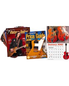 VG Starter Pack • The Official Vintage Guitar® Price Guide, Wall Calendar, 1-Year Print Subscription