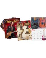 VG Starter Pack • The Official Vintage Guitar® Price Guide, 2021 Wall Calendar, 1-Year Print Subscription