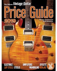 The Official Vintage Guitar Price Guide 2019 • PRE‑ORDER