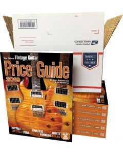 The Official Vintage Guitar Price Guide 2019 • Box of 6