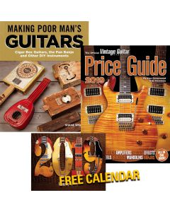 Book Bundle • Making Poor Man's Guitars, 2019 Price Guide, 2019 Wall Calendar