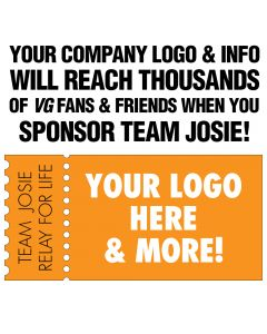 Team Josie Sponsorship