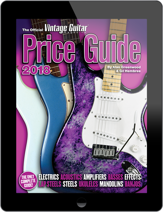 The Official Vintage Guitar Price Guide 2018 Digital Only