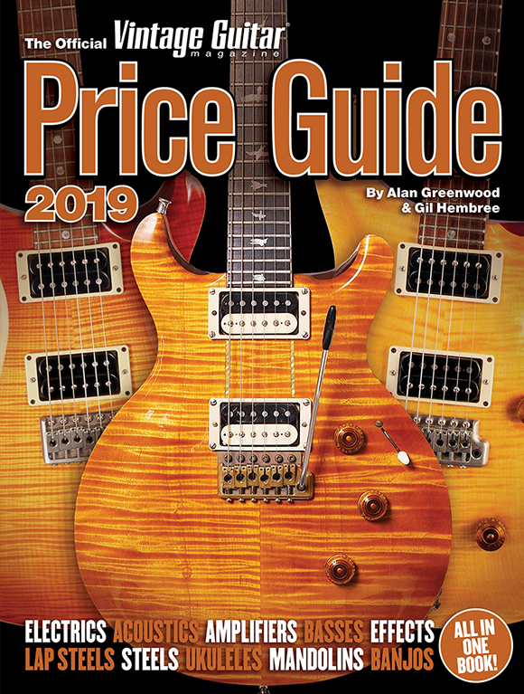 The Official Vintage Guitar Price Guide 2019