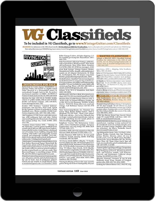 VG Classifieds