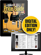 The Official Vintage Guitar Price Guide 2017 Digital Edition Only